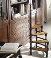 Escalera biblioteca clásica Saleven