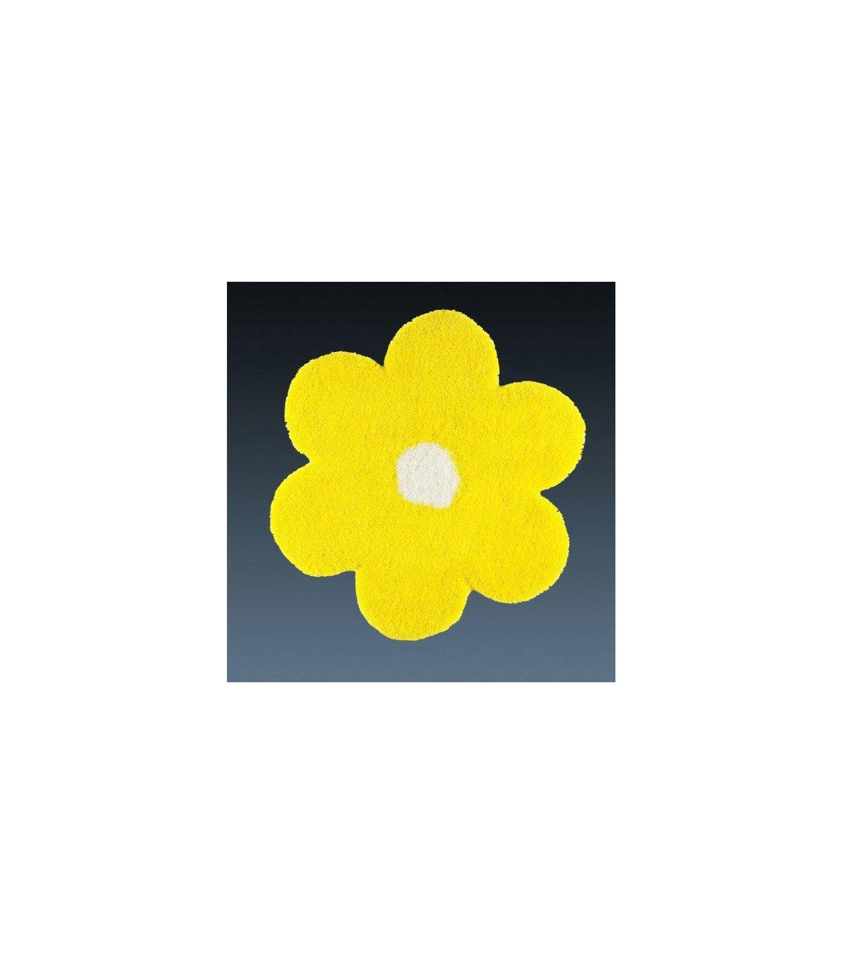 Alfombra Juvenil Redonda Flor en Ámbar-Muebles.com