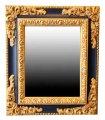 Espejo clásico Fidelia negro