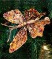Mariposa Pequeña Ámbar Set 6 Clip Navidad