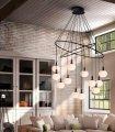 Lámpara de techo 12 luces Global