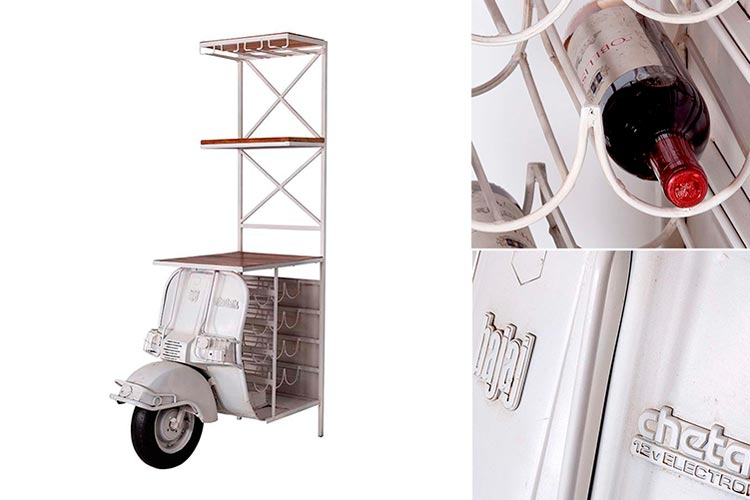 Bar moto vespa vintage Domenico - Ámbar Muebles