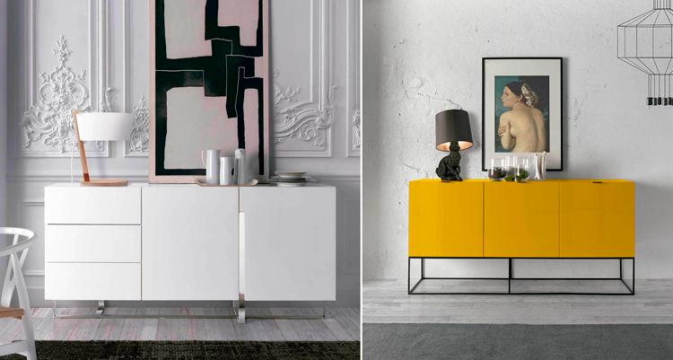 Aparadores de diseño de Ángel Cerdà - Ámbar Muebles