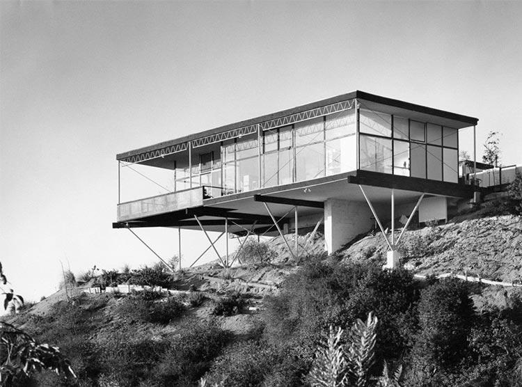Arquitectura expiremental - Residencia Grossman - Los Ángeles