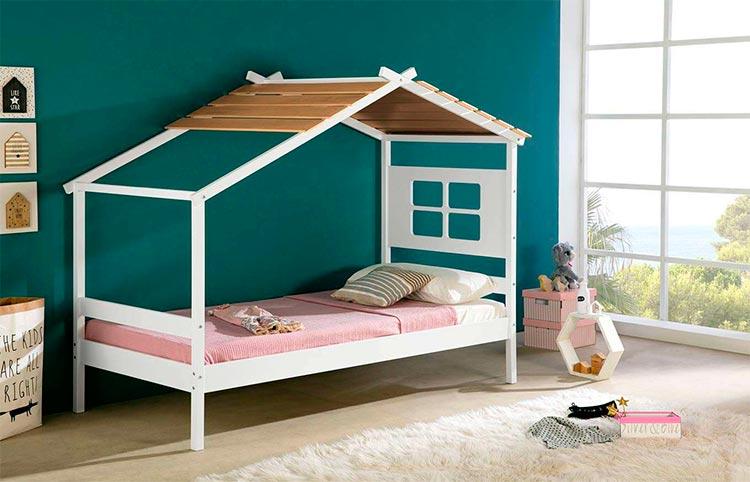 Cama casita infantil Arabela | Ámbar Muebles
