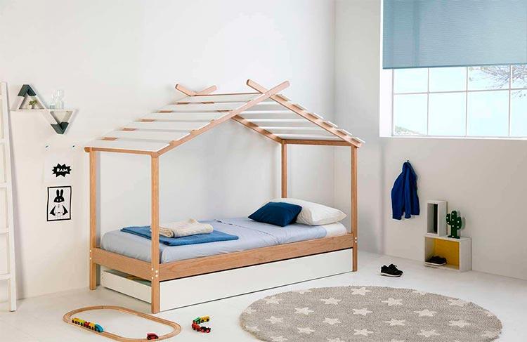 Cama casita infantil Kaine | Ámbar Muebles