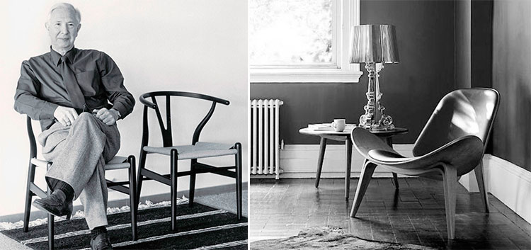 Hans J. Wegner, icono del diseño danés | Inspiración Pinterest
