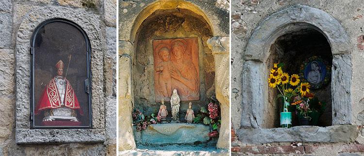 Hornacina de San Fermín (Pamplona) | Hornacinas religiosas | Vía Pinterest