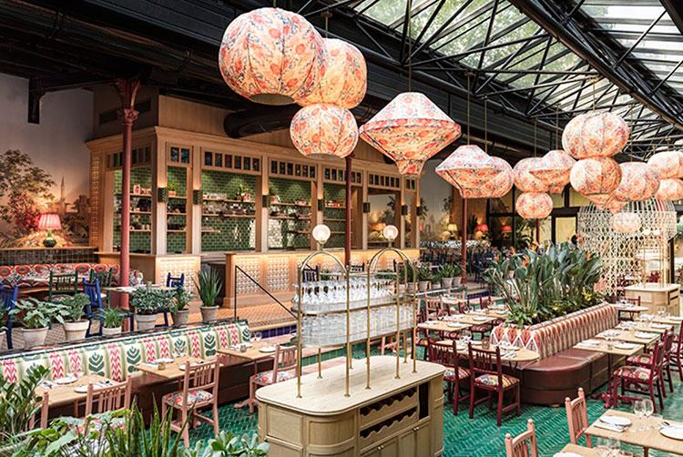 Cervecería La Gare diseñada por Laura González | Fuente Pinterest