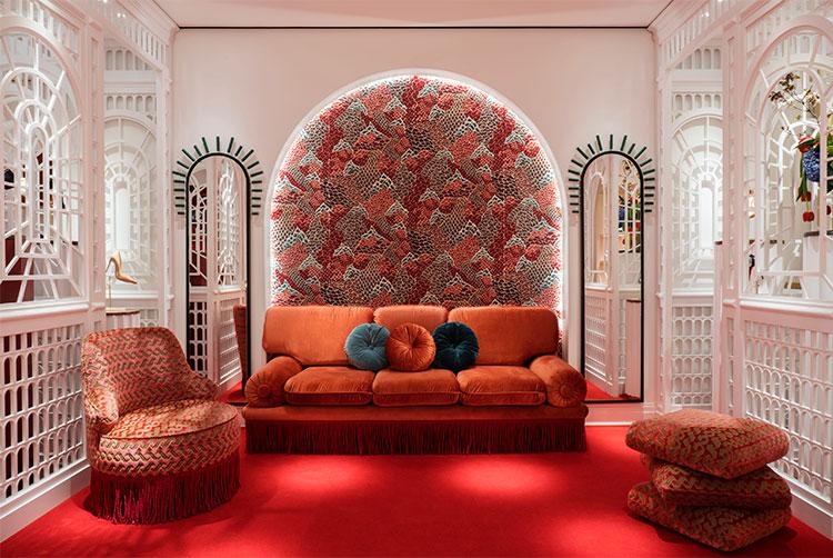 Boutique Louboutin diseñada por Laura González | Fuente Pinterest