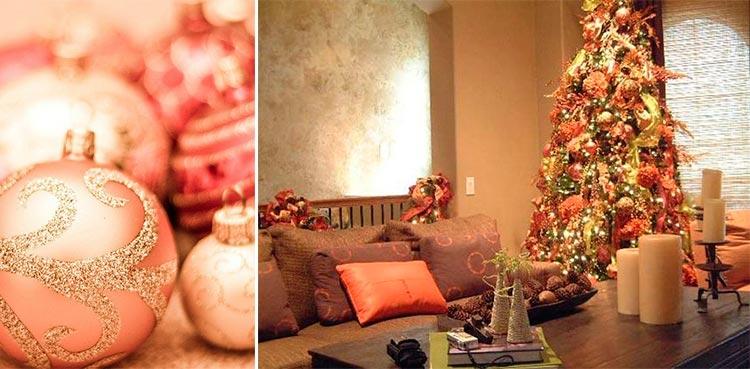 Color del año | Living Coral | Decorar en Navidad