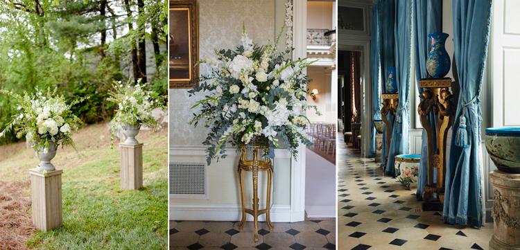 Pedestales clásicos - Inspiración vía Pinterest