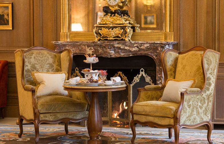 Sillón orejero en el Salón Proust - Hotel Ritz Paris