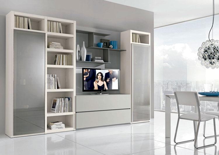 Salón TV moderno Giovanni - Ámbar Muebles