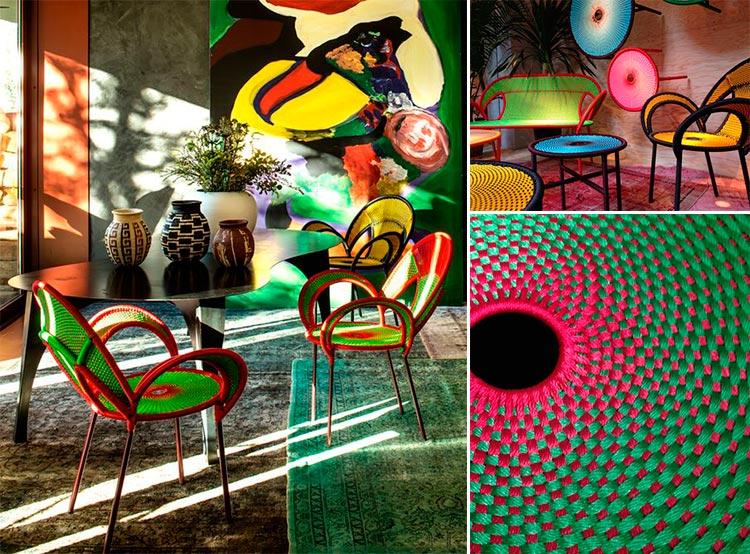 Sebastian Herkner | Colección Banjooli para Moroso | Fuente: Pinterest