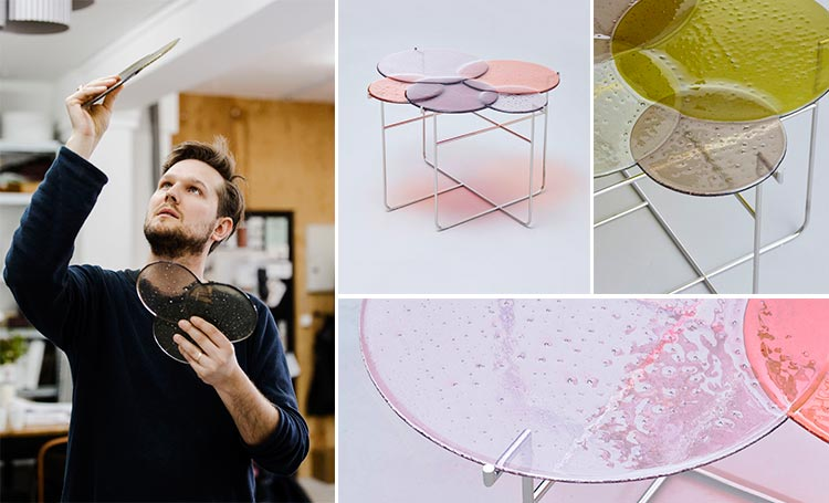 Mesa para Van Treeck de Sebastian Herkner | Fuente: Pinterest