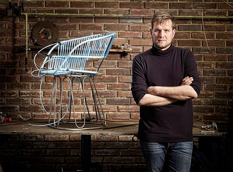 Sebastian Herkner | Diseñador año 2019 por Maison&Objet | Fuente: Pinterest
