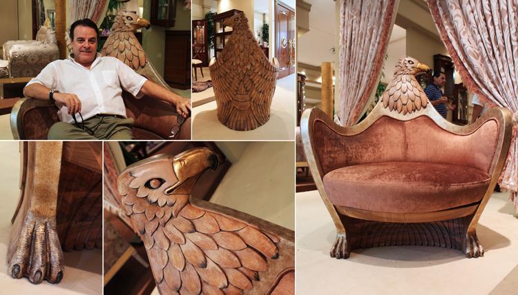 Butaca de diseño Águila en Solomando