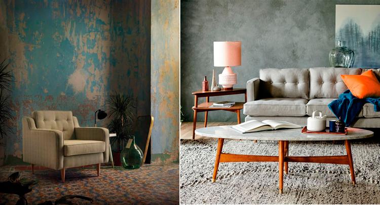 Sillón de diseño Yarí de Ámbar Muebles + Imagen de inspiración vía Pinterest