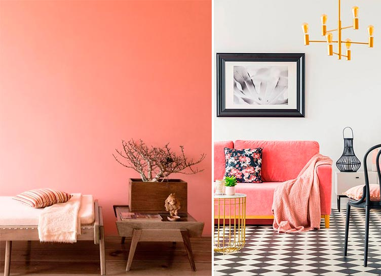 Living Coral - Color del Año 2019 Pantone - Inspiración Pinterest