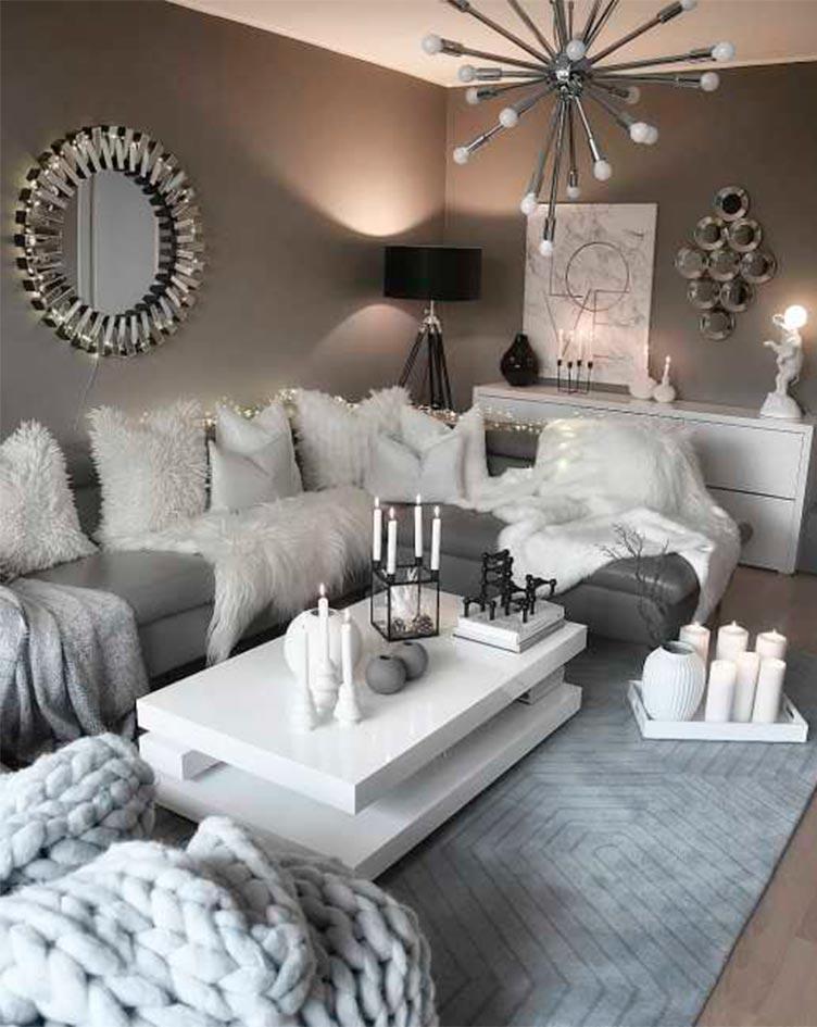 Tendencias para el 2019 en decoración neutra - Inspiración Pinterest