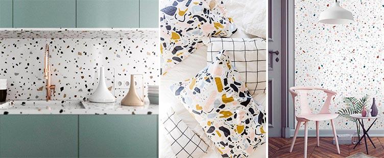 Tendencias en decoración con terrazo - Inspiración Pinterest