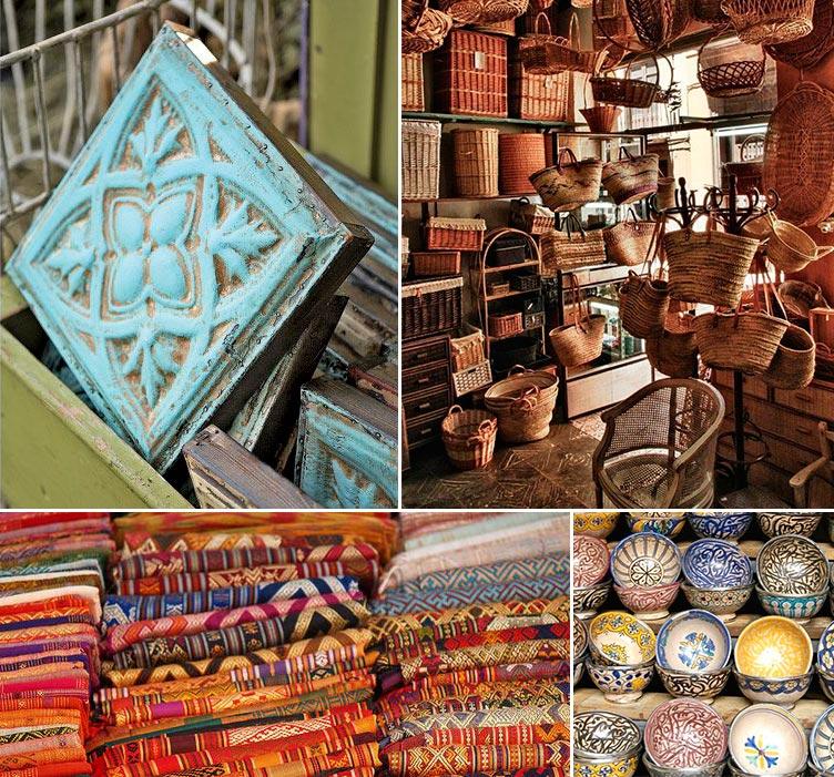 Textiles y cerámicas tradicionales para el hogar - Inspiración Pinterest