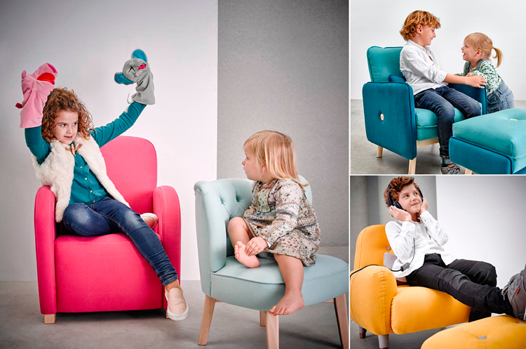 Butacas infantiles en Ámbar Muebles