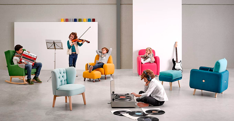 Butacas para niños Mantesa - Ámbar Muebles