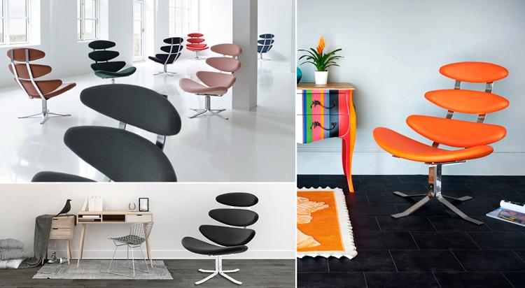 Butacas Corona en distintos colores y tipos de tapizado | Fuente: Pinterest