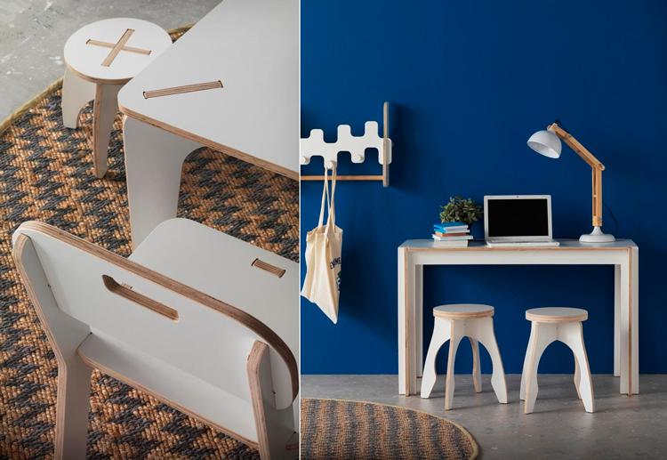 Colección de muebles infantiles Piccolo - Ámbar Muebles