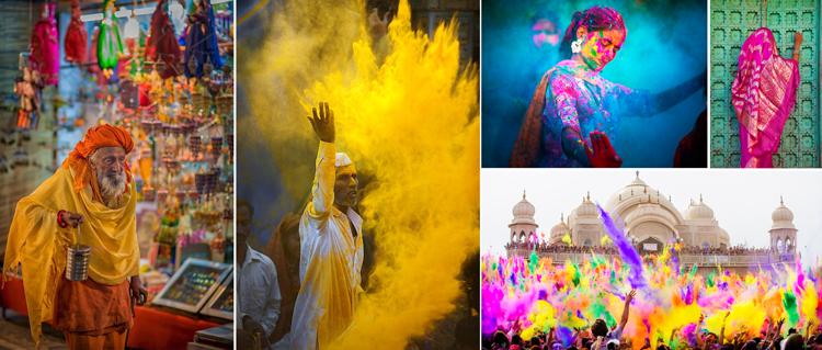 Colores de la India - Inspiración vía Pinterest