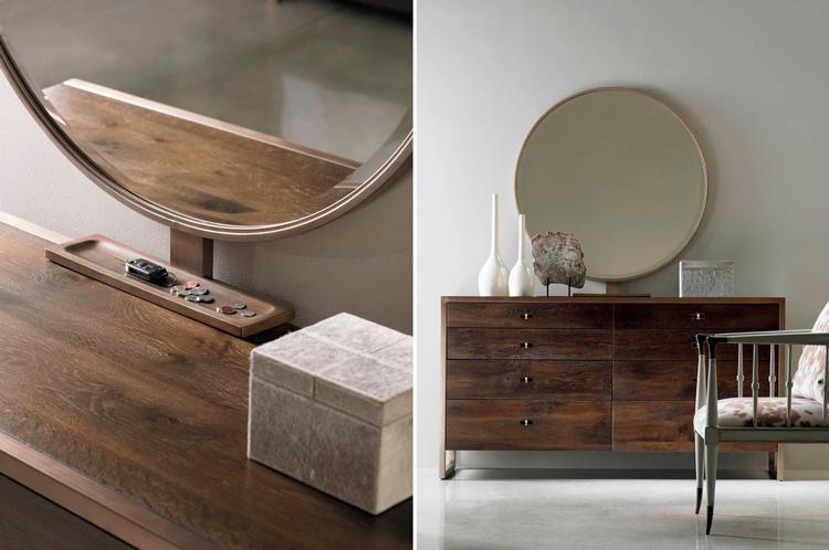 Cómoda de diseño contemporáneo Artisan + Espejo - Ámbar Muebles