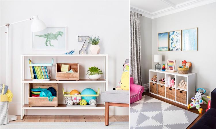 Ideas de decoración para zonas de juegos infantiles - Inspiración vía Pinterest