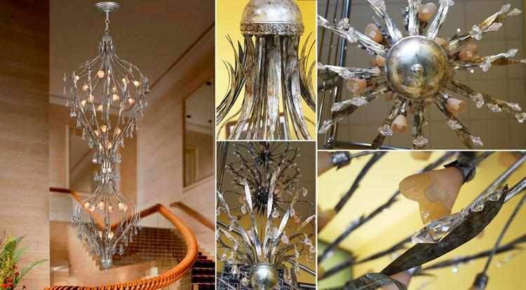 Lámpara colgante clásica Vermont - Ámbar Muebles + detalles