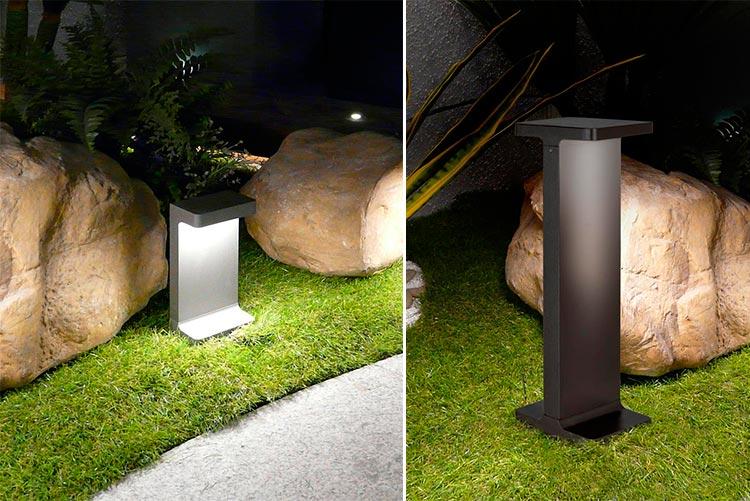 Lámpara exterior baliza Terral | Ámbar Muebles