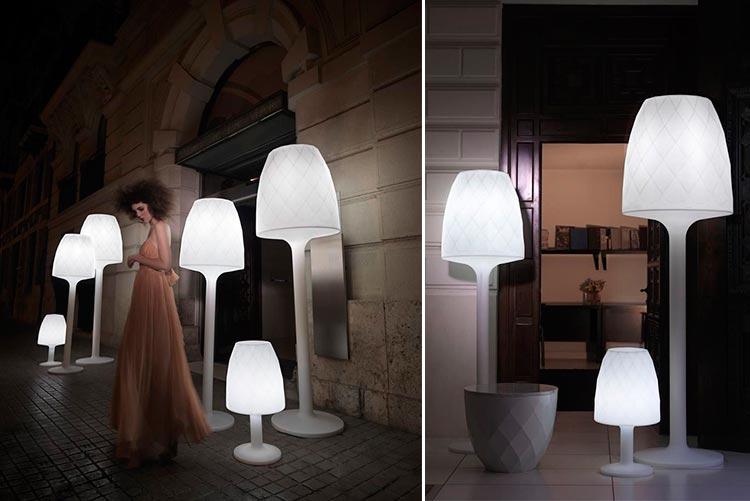 Lámpara de diseño Vases | Ámbar Muebles