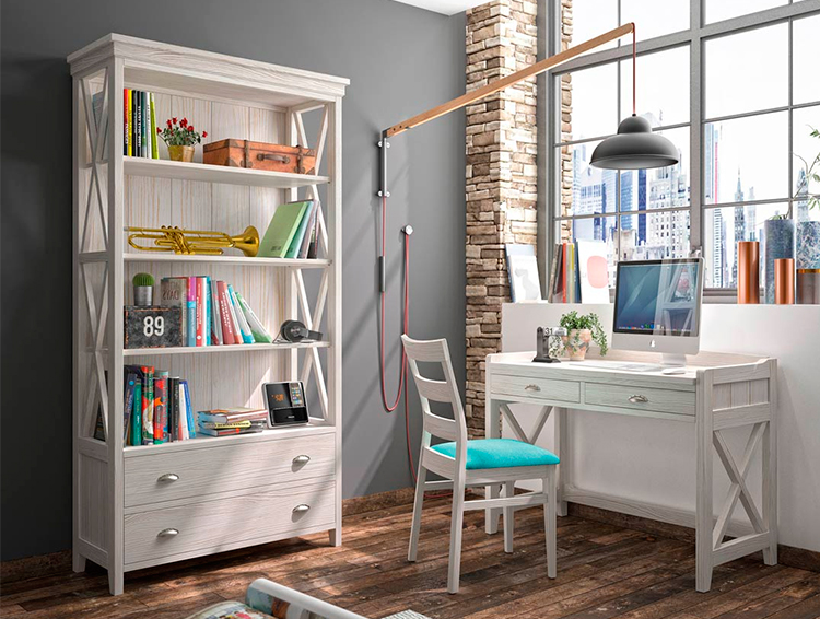 Librero alto Verona   Grupo Seys en Ámbar Muebles