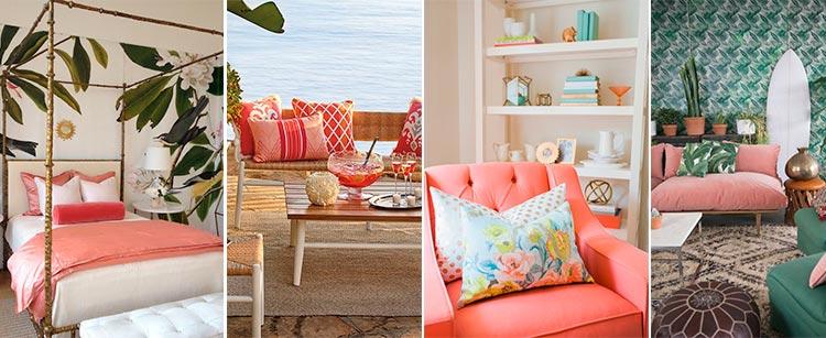 Color del año | Living Coral | Tendencias en decoración