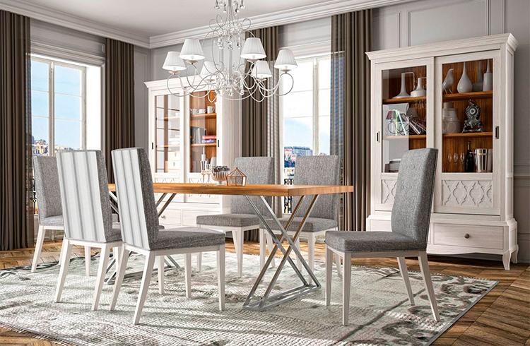 Mesa de comedor moderna Arosa   Grupo Seys en Ámbar Muebles