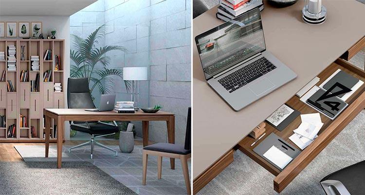 Mesa de despacho moderna Manila   Ámbar Muebles