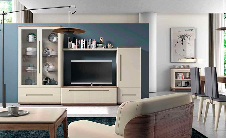 Modular de salón moderna Manila B   Ámbar Muebles