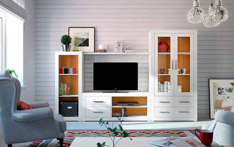 Mueble de salón moderno Ámbar   Grupo Seys en Ámbar Muebles