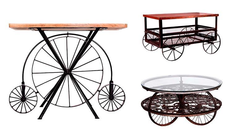 Muebles industriales con ruedas - Ámbar Muebles