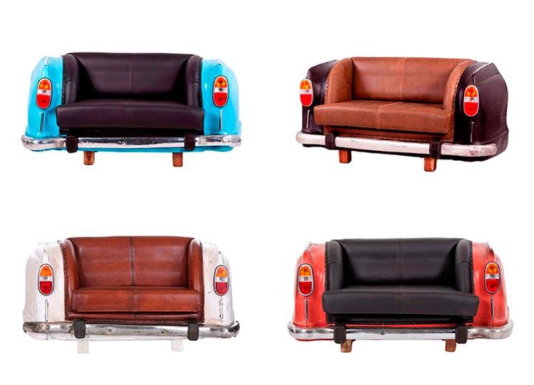 Sofá vintage coche Cadillac - Ámbar Muebles