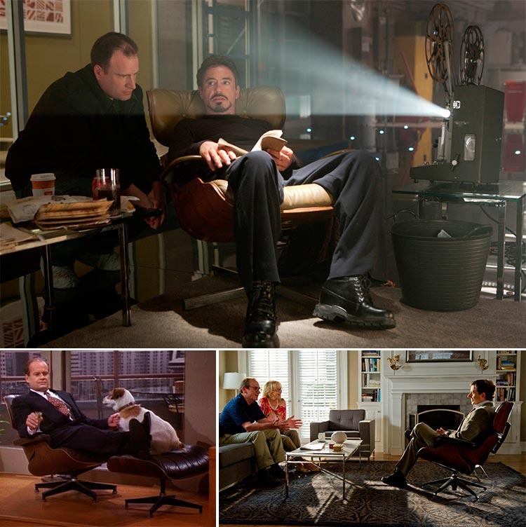 Top 10 sillas y sillones de cine | Lounge Chair 670 | Iron Man - Fraiser - Hope Springs