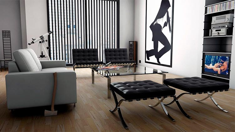 Top 10 sillas y sillones de cine | Silla Barcelona |  American Psyco