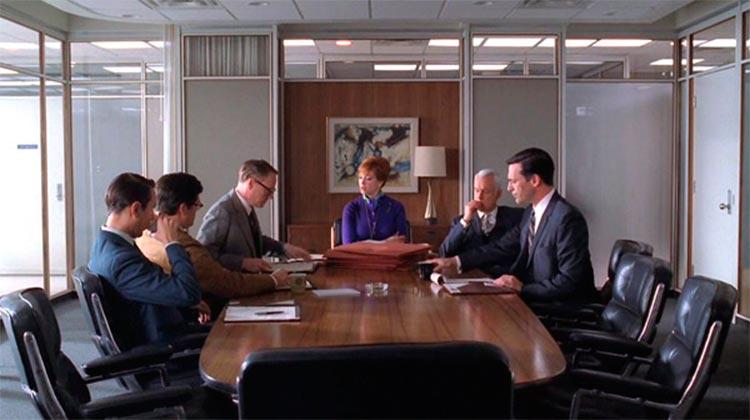 Top 10 sillas y sillones de cine | Silla ejecutiva de Ray y Charles Eames |  Mad Men