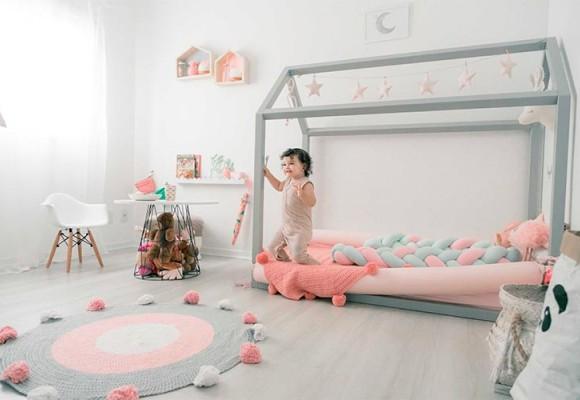 CAMAS CASITA PARA DORMITORIOS INFANTILES ACCESIBLES Y CÓMODOS