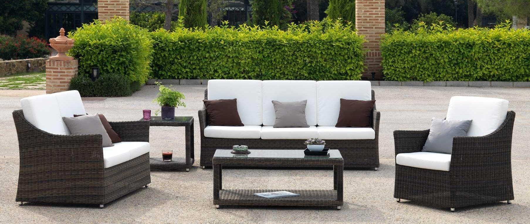 Muebles de rattan para exterior affordable muebles de - Muebles para exteriores ...